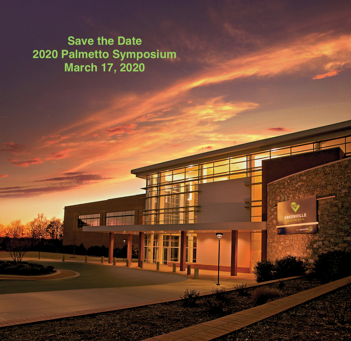 Save the Date 2020 Symposium